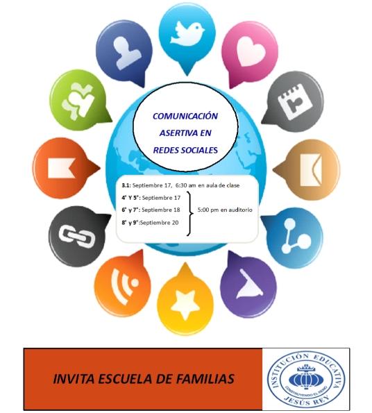 chaarla sobre redes sociales y comunicación Jesús Rey 2019