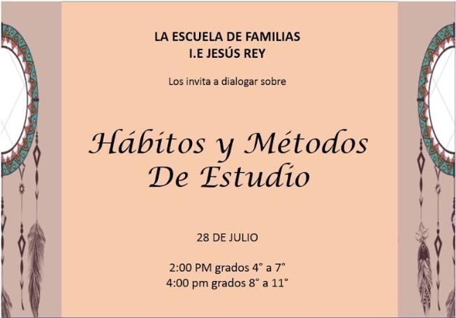 Hábitos y métodos de estudio Jesús Rey