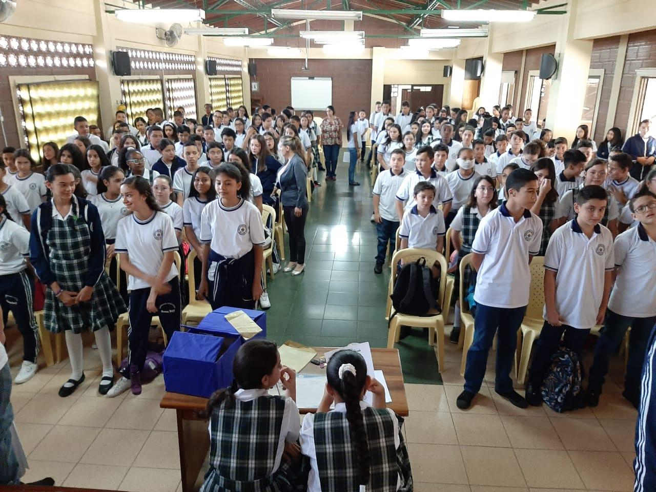 Elecciones democraticas Gobierno Escolar Jesús Rey 2020