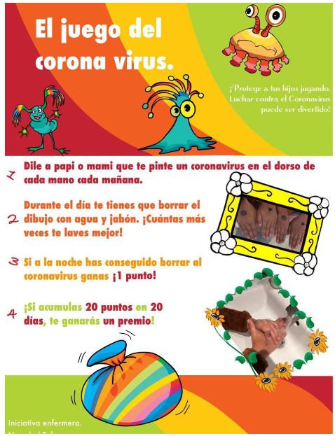 Juego del corona virus