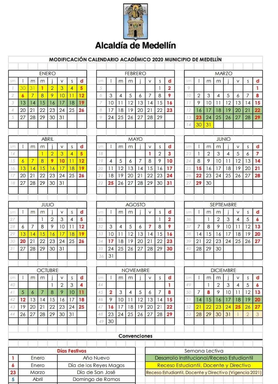 Calendario Escolar 2020 con la última actualización de acuerdo a la contingencia